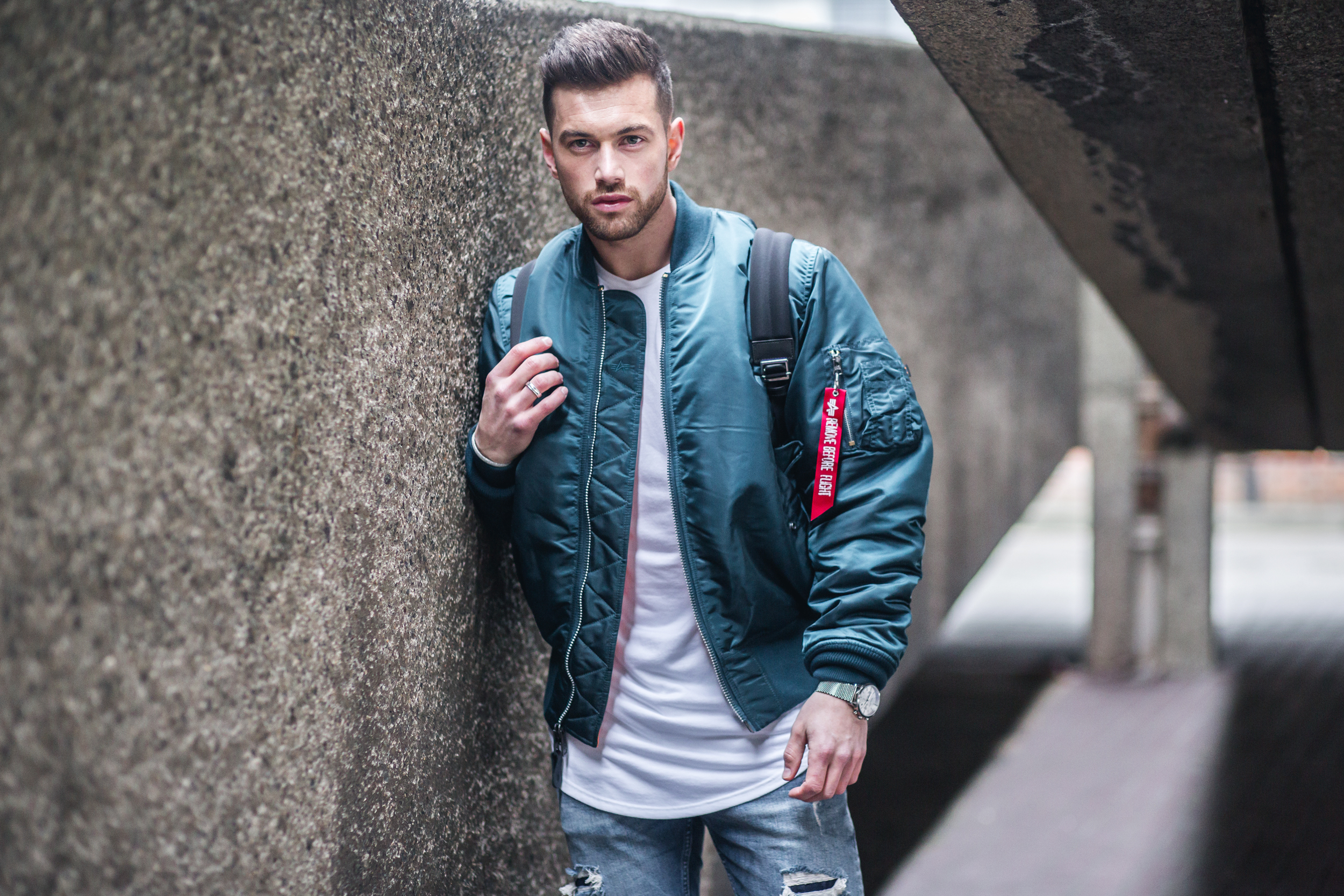 Styling The Ma1 Bomber Mens Fashion Ali Gordon